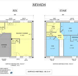 Plan de la Maison Nevada 1