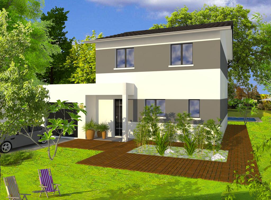 Maison tage nevada 2 leader habitat for Maison 2 etage