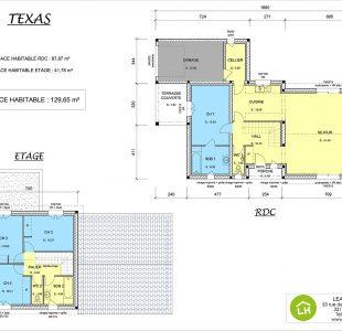 Plan Maison Texas