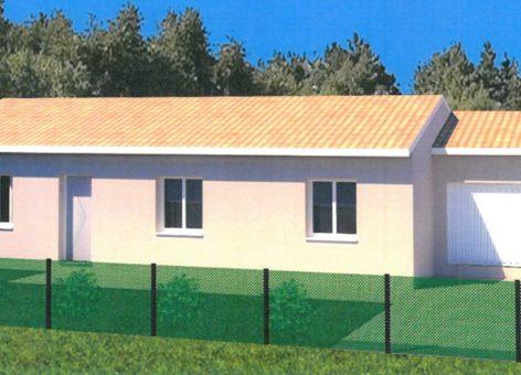 Vue extérieure maison Saint-Jean-d'Illac 2
