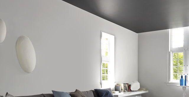 osez le plafond de couleur leader habitat. Black Bedroom Furniture Sets. Home Design Ideas