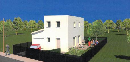 Vue extérieure de la maison