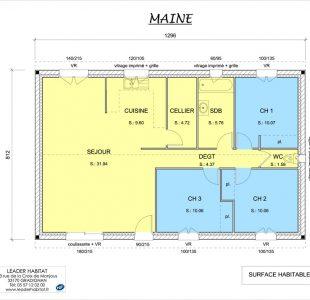 Maison MAINE leader habitat